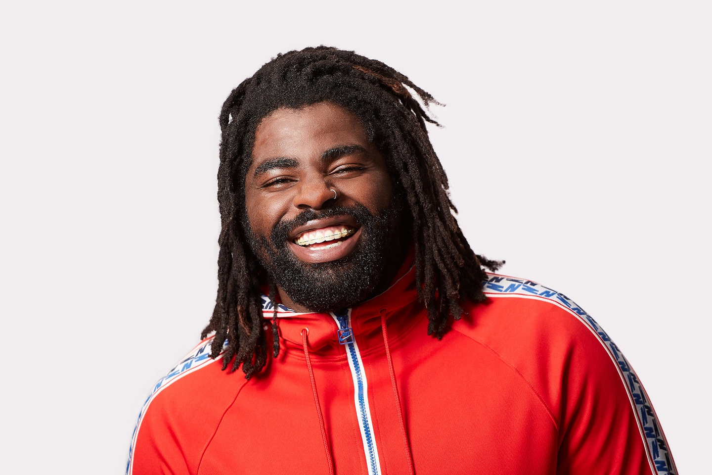 A photograph of Kofi Smiles