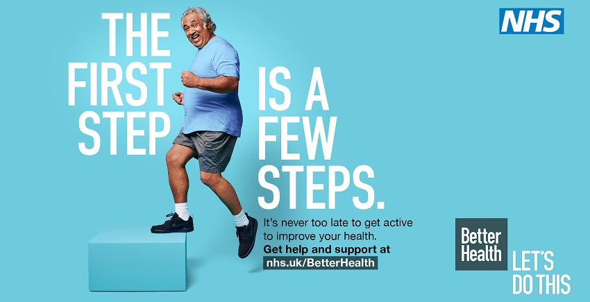 NHS Better Health campaign - get active
