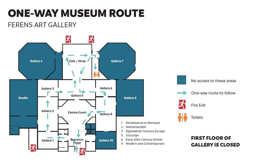 Ferens Art Gallery Map