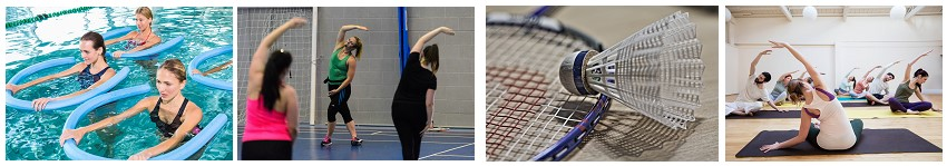 Book a Fitness Class or Sports Court