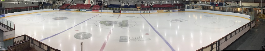Image of Hull Ice Arena ice rink