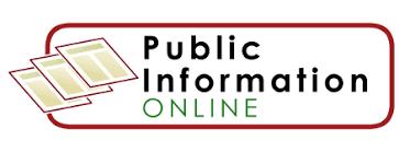 Public information online logo