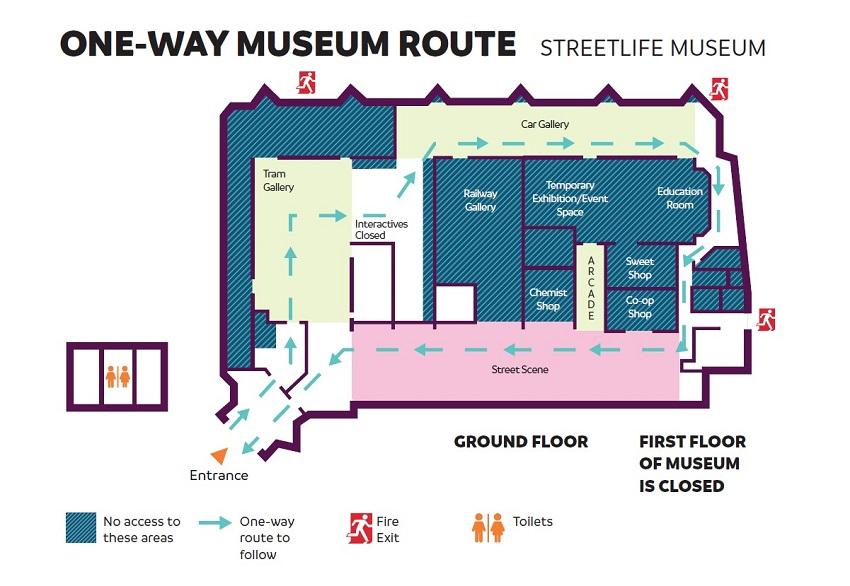 Streetlife Museum Map
