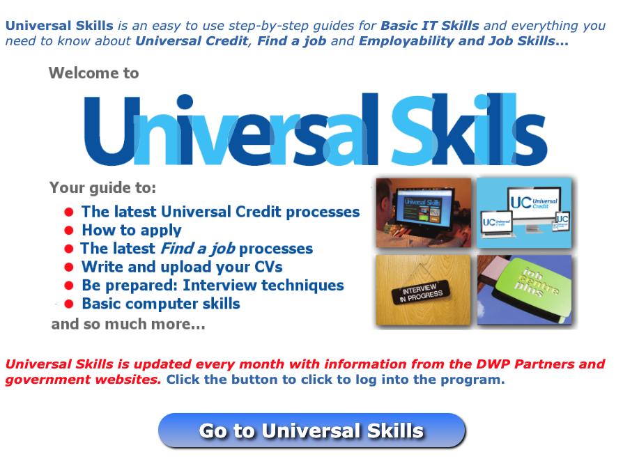 Universal Skills logo