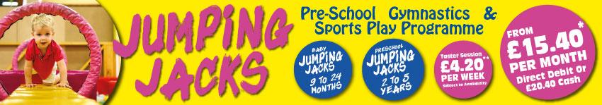 Jumping Jacks Pre School Sessions