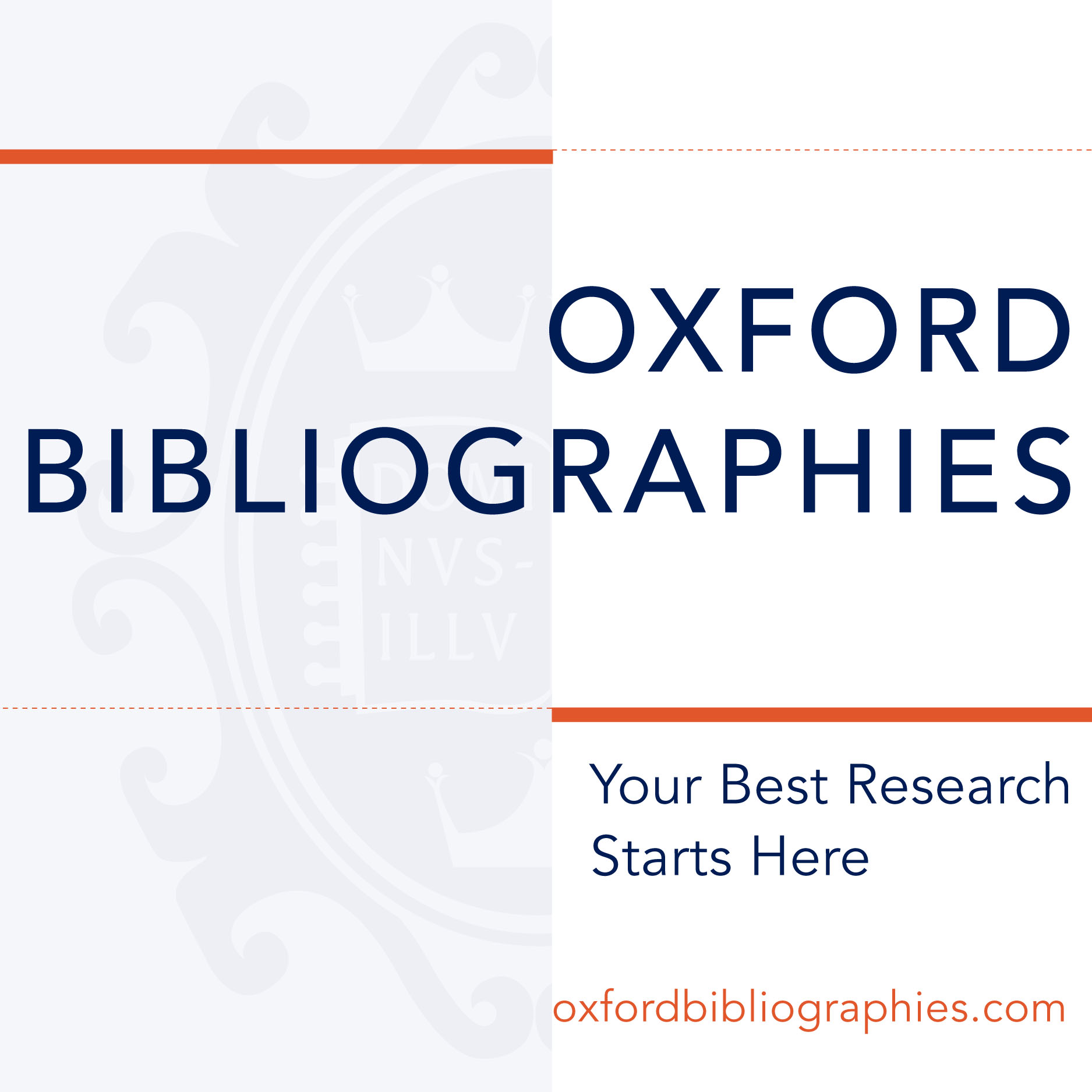 Oxford Bibliographies logo