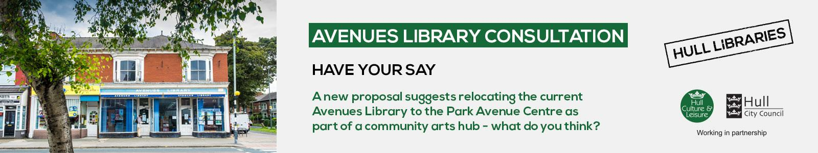 Avenue Library Consultation