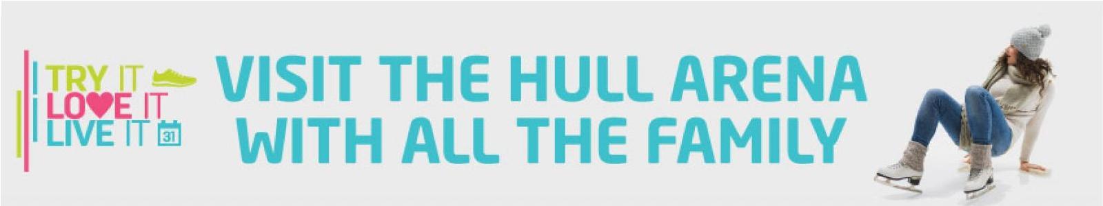 Visit Hull Arena Banner