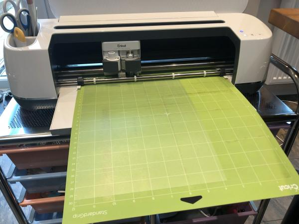 Image of Cricut computer controlled cutter
