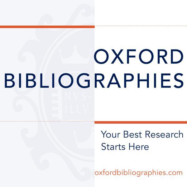 Oxford Bibliographies logo