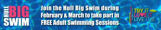 Free Adult Swimming in February and March 2020