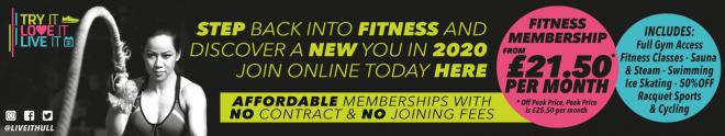 Affordable Fitness Memberships Hull