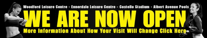 Leisure Sites Now Open
