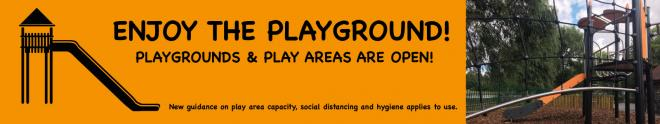 Playgrounds and Outdoor Gyms Reopening