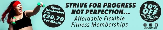 September 10% Discount Fitness Membership Offer